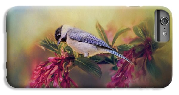 Watching Flowers Bloom Bird Art IPhone 6s Plus Case