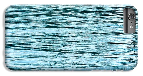 Lake Michigan iPhone 6s Plus Case - Water Flow by Steve Gadomski