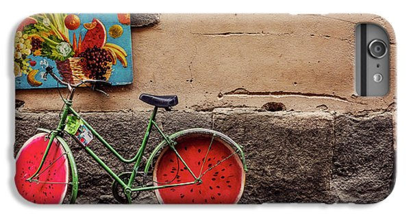 Watermelon Wheels IPhone 6s Plus Case by Happy Home Artistry