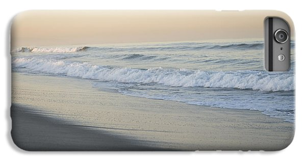 Venice Beach iPhone 6s Plus Case - Waves Splash Onto A Beach In Venice by Joel Sartore