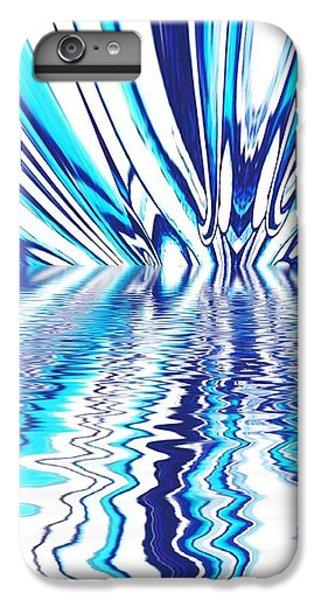 Wavy Blues  IPhone 6s Plus Case