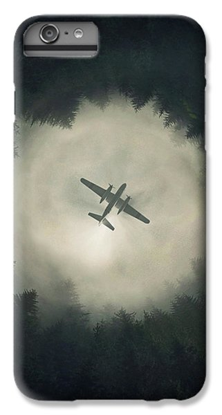 Airplane iPhone 6s Plus Case - Way Out by Zoltan Toth