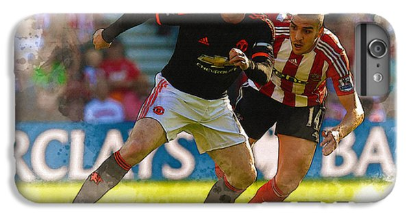 Wayne Rooney Is Marshalled IPhone 6s Plus Case by Don Kuing