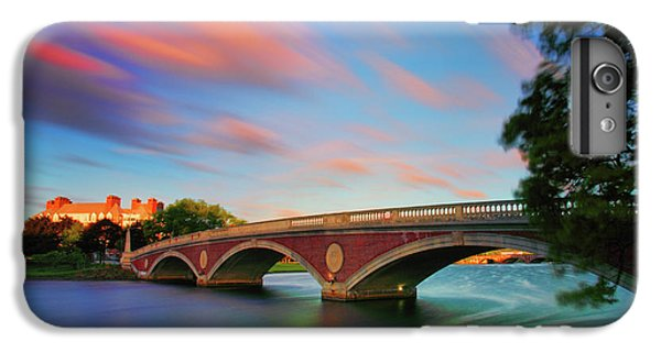Harvard iPhone 6s Plus Case - Weeks' Bridge by Rick Berk