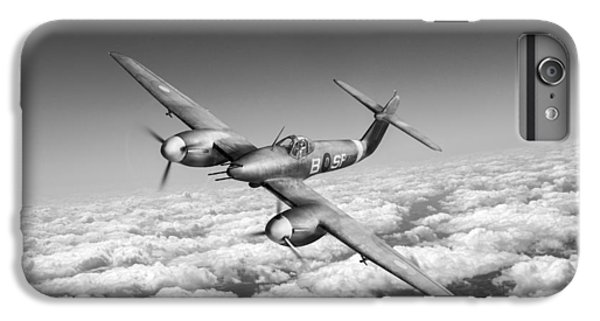 IPhone 6s Plus Case featuring the photograph Westland Whirlwind Portrait Black And White Version by Gary Eason