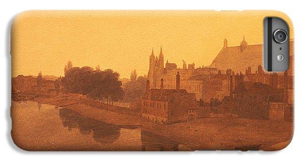Westminster Abbey  IPhone 6s Plus Case by Peter de Wint