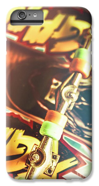 Truck iPhone 6s Plus Case - Wheels Trucks And Skate Decks by Jorgo Photography - Wall Art Gallery
