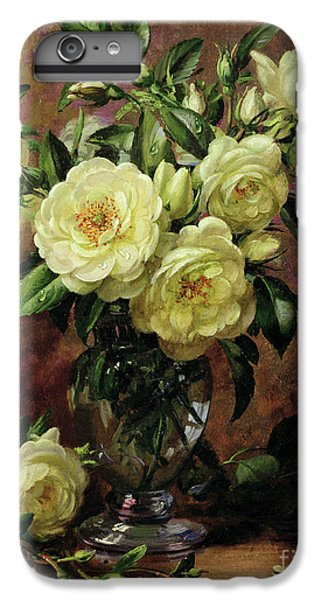Rose iPhone 6s Plus Case - White Roses - A Gift From The Heart by Albert Williams