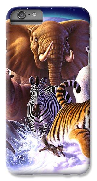 Squirrel iPhone 6s Plus Case - Wild World by Jerry LoFaro