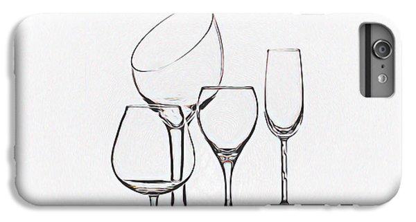 Wineglass Graphic IPhone 6s Plus Case