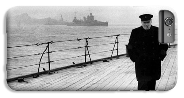 Winston Churchill At Sea IPhone 6s Plus Case by War Is Hell Store