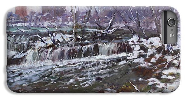 Goat iPhone 6s Plus Case - Winter At Goat Island by Ylli Haruni
