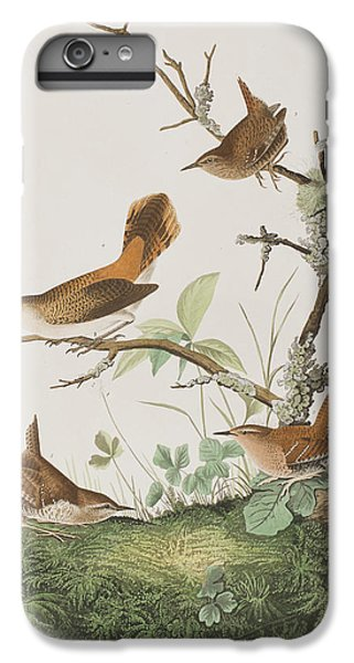 Winter Wren Or Rock Wren IPhone 6s Plus Case by John James Audubon