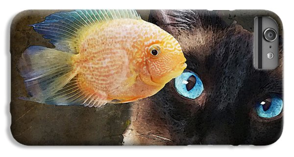 Wishful Thinking 2 - Siamese Cat Art - Sharon Cummings IPhone 6s Plus Case by Sharon Cummings