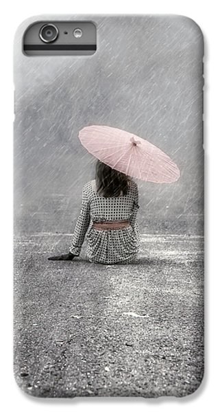 Umbrella iPhone 6s Plus Case - Woman On The Street by Joana Kruse
