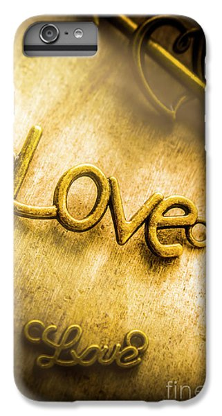 Pendant iPhone 6s Plus Case - Words And Letters Of Love by Jorgo Photography - Wall Art Gallery