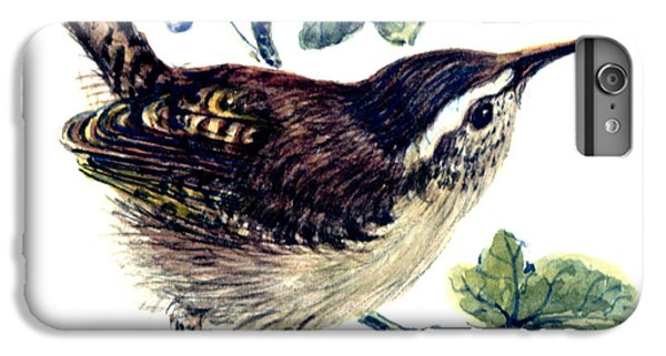 Wren In The Ivy IPhone 6s Plus Case by Nell Hill