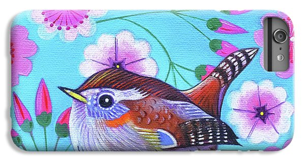 Wren IPhone 6s Plus Case by Jane Tattersfield