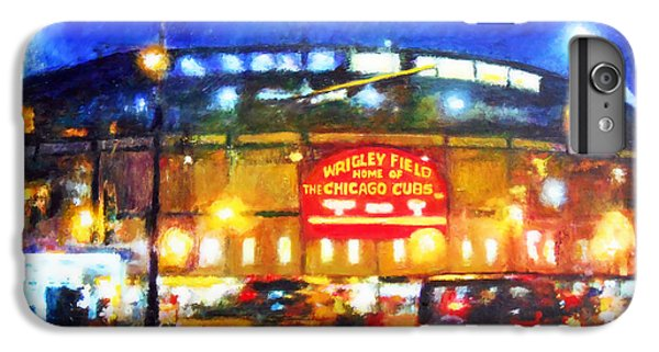 Wrigley Field iPhone 6s Plus Case - Wrigley Field Home Of Chicago Cubs by Michael Durst