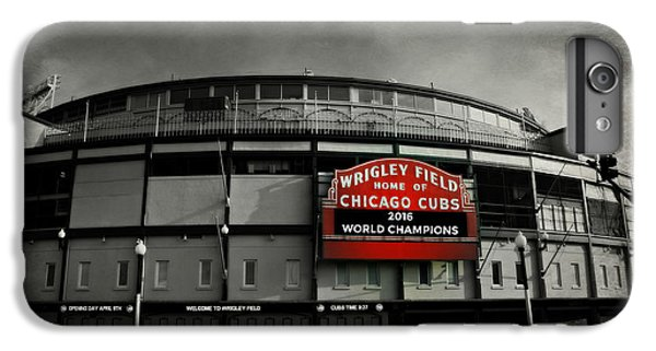 Cow iPhone 6s Plus Case - Wrigley Field by Stephen Stookey