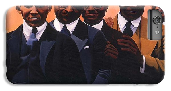 Harlem iPhone 6s Plus Case - Writers On The Roof by Joyce Owens