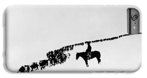 Horse iPhone 6s Plus Case - Wyoming: Cattle, C1920 by Granger