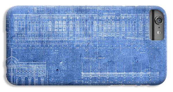 Yankee Stadium New York City Blueprints IPhone 6s Plus Case by Design Turnpike
