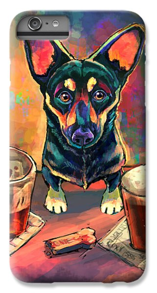 Beer iPhone 6s Plus Case - Yappy Hour by Sean ODaniels