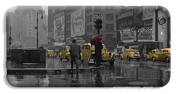 Times Square iPhone 6s Plus Case - Yellow Cabs New York by Andrew Fare