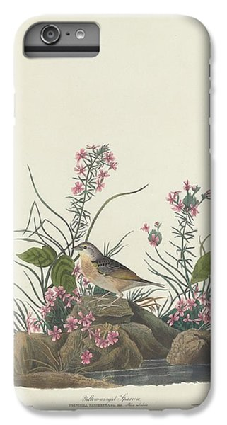 Yellow-winged Sparrow IPhone 6s Plus Case by Dreyer Wildlife Print Collections