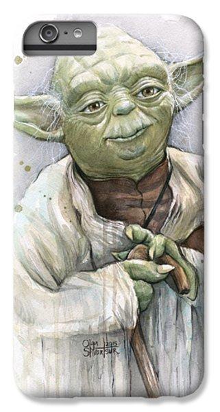 Star iPhone 6s Plus Case - Yoda by Olga Shvartsur
