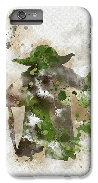 Star iPhone 6s Plus Case - Yoda by My Inspiration