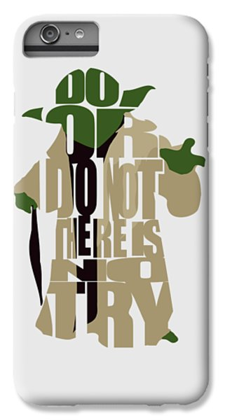 Star iPhone 6s Plus Case - Yoda - Star Wars by Inspirowl Design