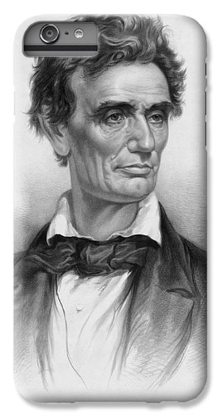 Abraham Lincoln iPhone 6s Plus Case - Young Abe Lincoln by War Is Hell Store