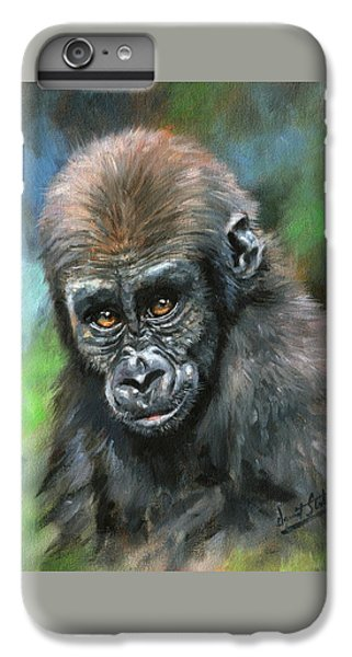 Young Gorilla IPhone 6s Plus Case by David Stribbling