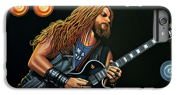 Dragon iPhone 6s Plus Case - Zakk Wylde by Paul Meijering