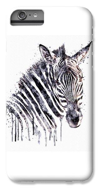 Zebra Head IPhone 6s Plus Case by Marian Voicu