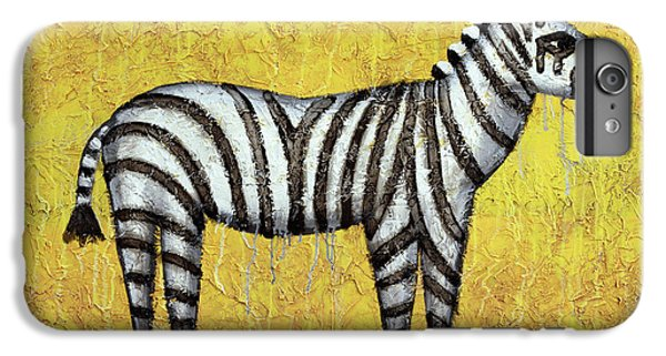 Zebra iPhone 6s Plus Case - Zebra by Kelly Jade King
