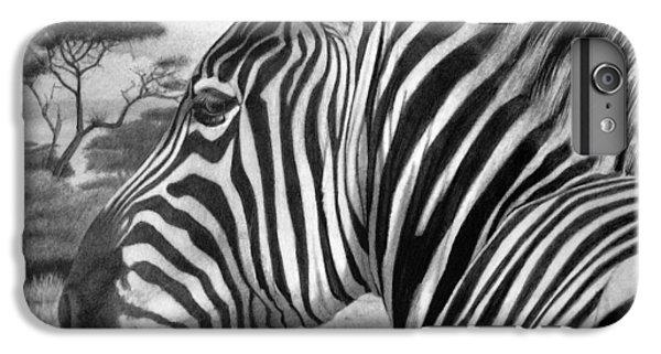 Zebra iPhone 6s Plus Case - Zebra by Tim Dangaran