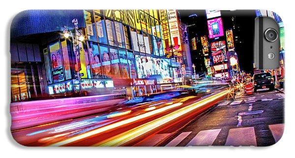 Times Square iPhone 6s Plus Case - Zip by Az Jackson