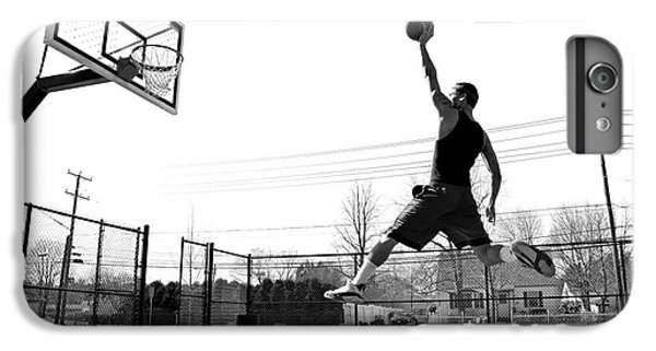 Fitness iPhone 6s Plus Case - A Young Basketball Player Flying by Arena Creative
