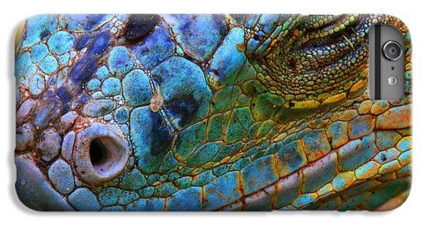 Dragon iPhone 6s Plus Case - Amazing Iguana Specimen Displaying A by Tessarthetegu