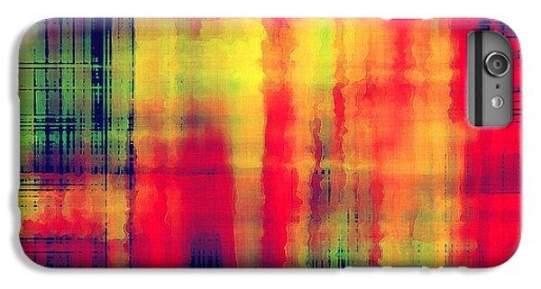 Space iPhone 6s Plus Case - Art Abstract Geometric Pattern by Irina qqq