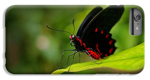 Scarlet iPhone 6s Plus Case - Beautiful Black And Red Poison by Ondrej Prosicky