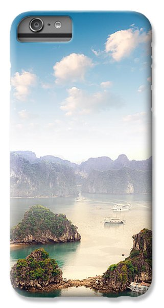 Dragon iPhone 6s Plus Case - Beautiful Landscape Of Halong Bay In by Banana Republic Images