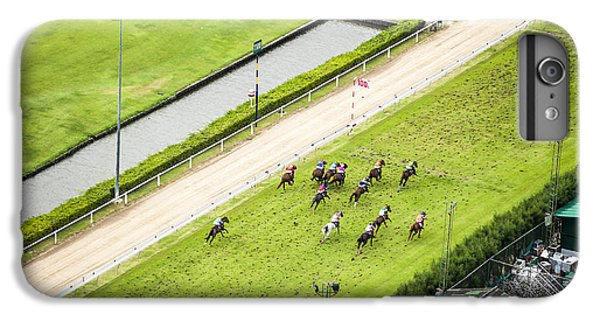 Fitness iPhone 6s Plus Case - Bird Eyes View Horse Racing by J.wootthisak