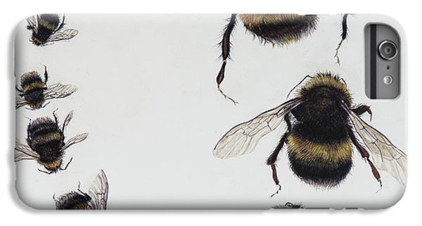 Boats iPhone 6s Plus Case - Bombus by Odile Kidd