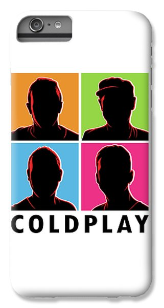 Coldplay iPhone 6s Plus Case - Coldplay Silhouette by Laksana Ardie