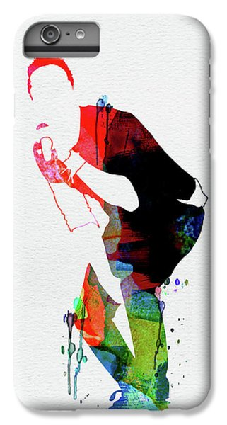 Coldplay iPhone 6s Plus Case - Coldplay Watercolor by Naxart Studio