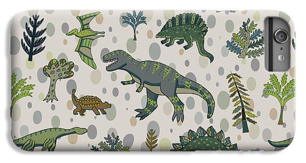 Dragon iPhone 6s Plus Case - Dinosaur Pattern by Goosefrol